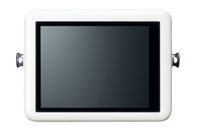 Canon PowerShot N - White - Rear Touch Screen LCD Display