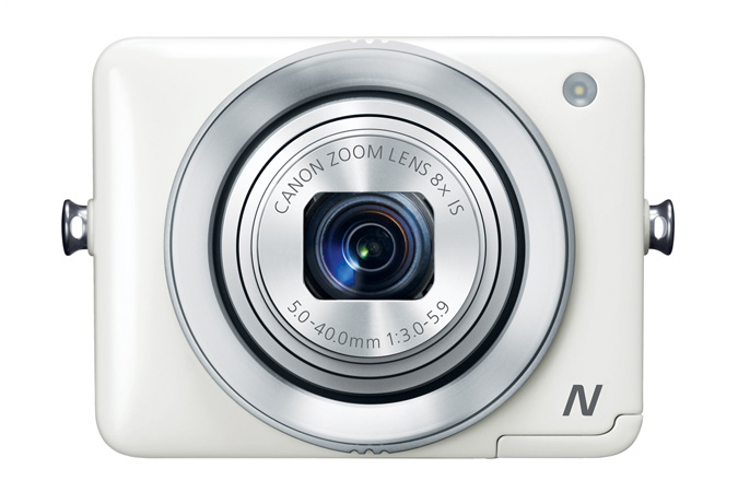 Canon PowerShot N - White - Front