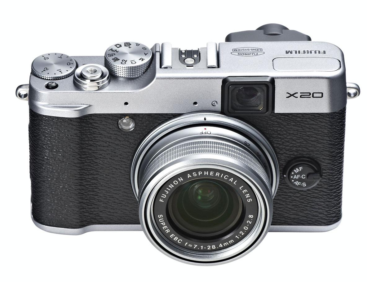 Fujifilm X20 - Silver - Front