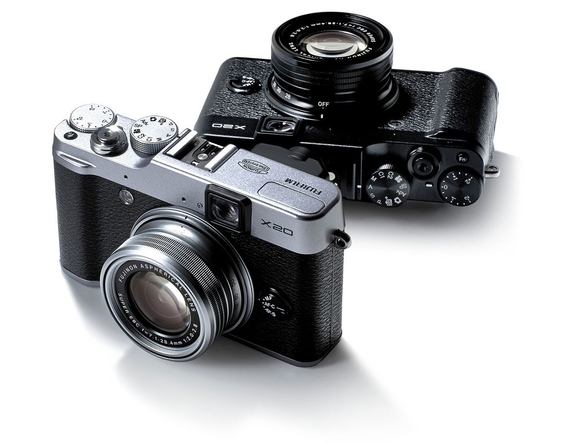 Fujifilm X20 - In Two-Tone Or Solid Black