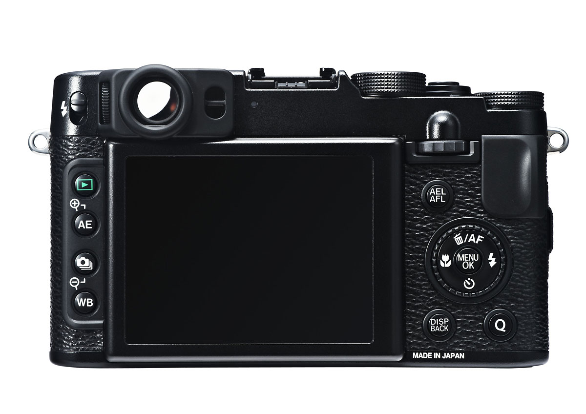 Fujifilm X20 - Rear - Black