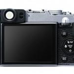 Fujifilm X20 - Silver - Rear
