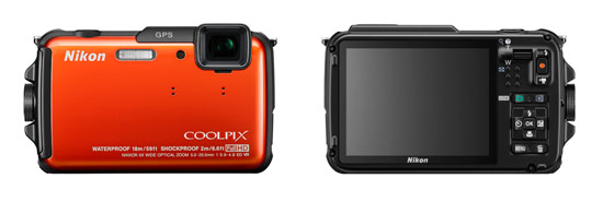 Nikon Coolpix AW110 Rugged Camera - Now With Wi-Fi!