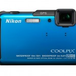 Nikon Coolpix AW110 Rugged Waterproof Camera - Blue