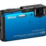 Nikon Coolpix AW110 Rugged Waterproof Camera - Right - Blue