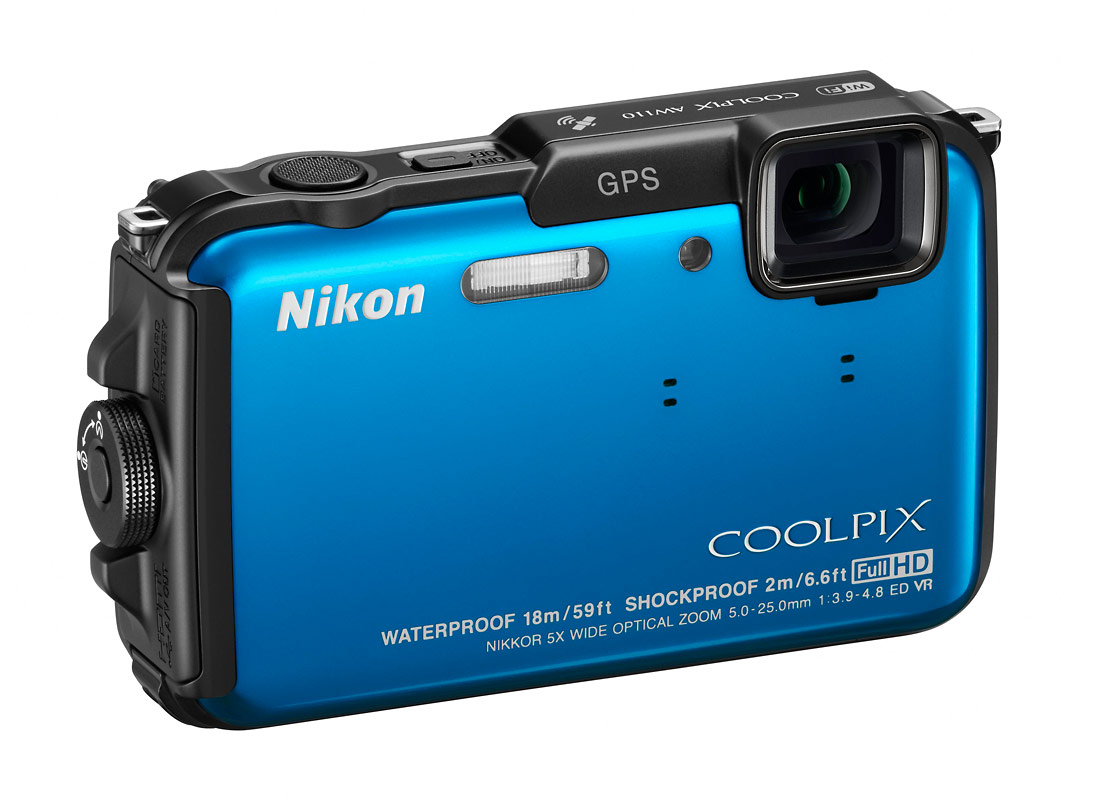 The Nikon Coolpix AW110 Goes Deeper & Adds Wi-Fi • Camera News and ...
