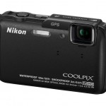 Nikon Coolpix AW110 Rugged Point-and-Shoot - Left - Black