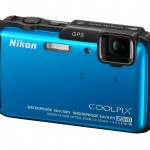 Nikon Coolpix AW110 Rugged Point-and-Shoot - Left - Blue