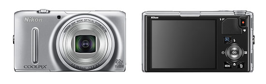Nikon Coolpix S9500 22x Pocket Superzoom Camera