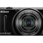 Nikon Coolpix S9500 Pocket Superzoom Camera - Black