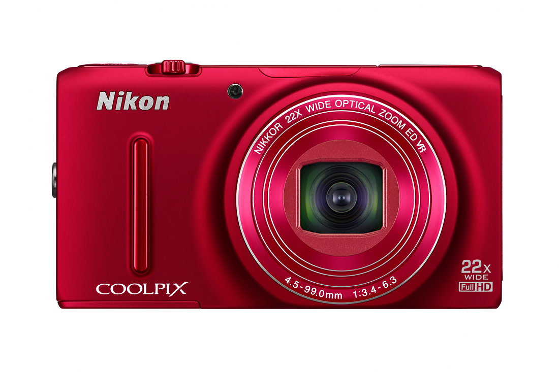 Nikon Coolpix S9500 - Red