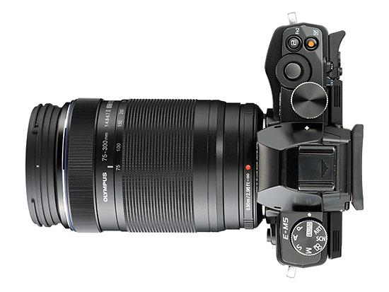 Olympus M.Zuiko ED 75-300mm f/4.8-6.7 II Superzoom Lens