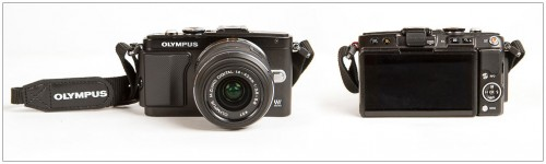 Olympus E-PL5 Pen Camera - Front & Back