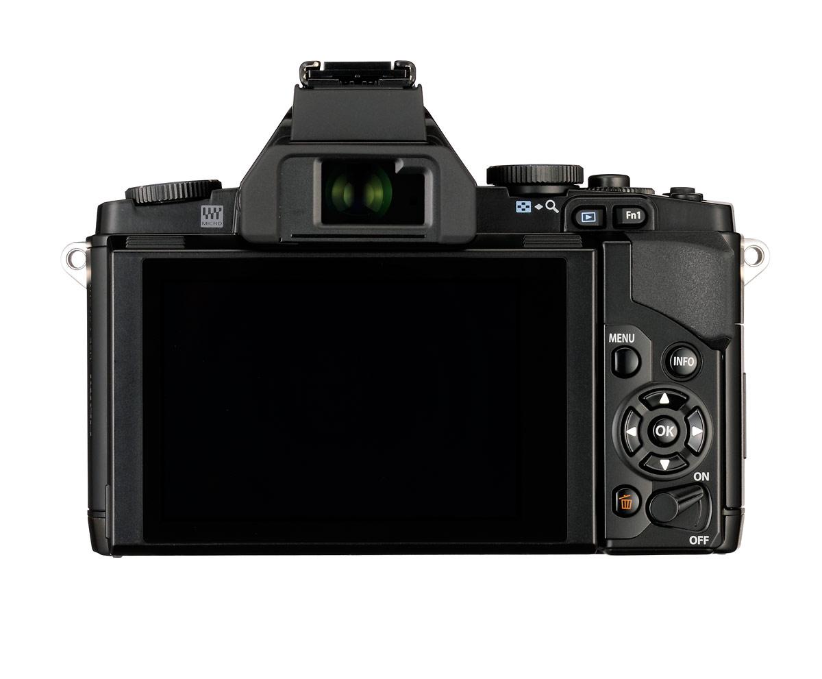 Olympus OM-D E-M5 - Rear View - Black