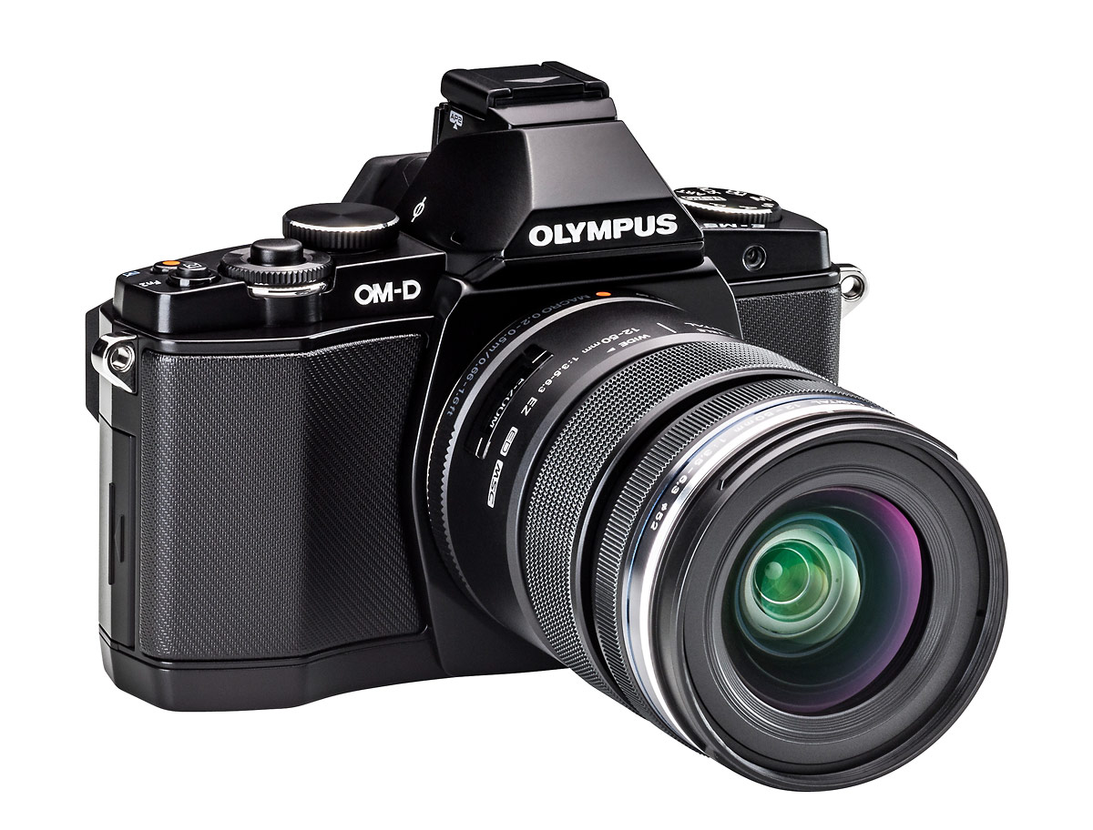 Olympus OM-D E-M5 - Right Side