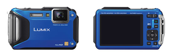Panasonic Lumix TS5 Rugged Waterproof Camera With Wi-Fi