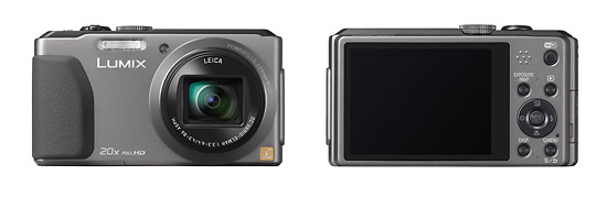 Panasonic Lumix DMC-ZS30 Pocket Superzoom Camera With Wi-Fi