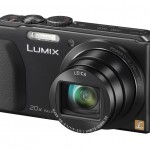 Panasonic Lumix ZS30 Pocket Superzoom With 20x Leica Zoom Lens - Black