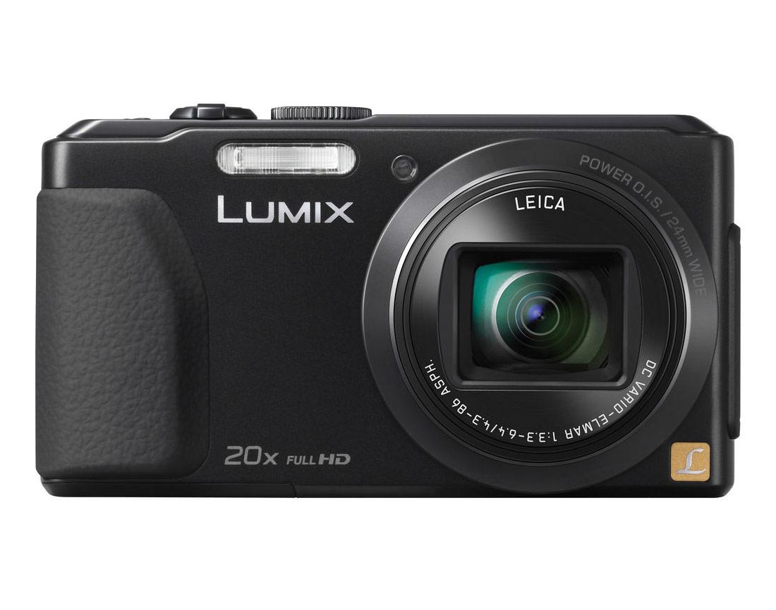 Panasonic Lumix ZS30 Pocket Superzoom Camera - Black