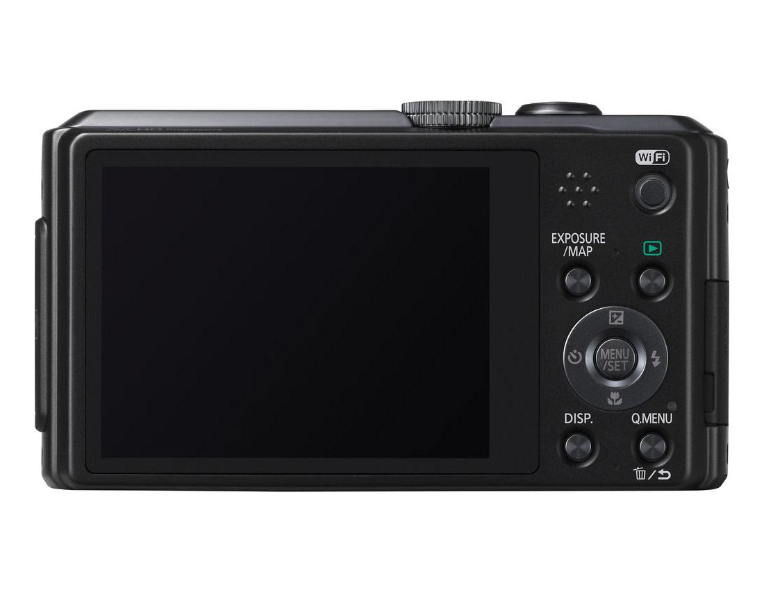 Panasonic Lumix ZS30 - Rear - Black