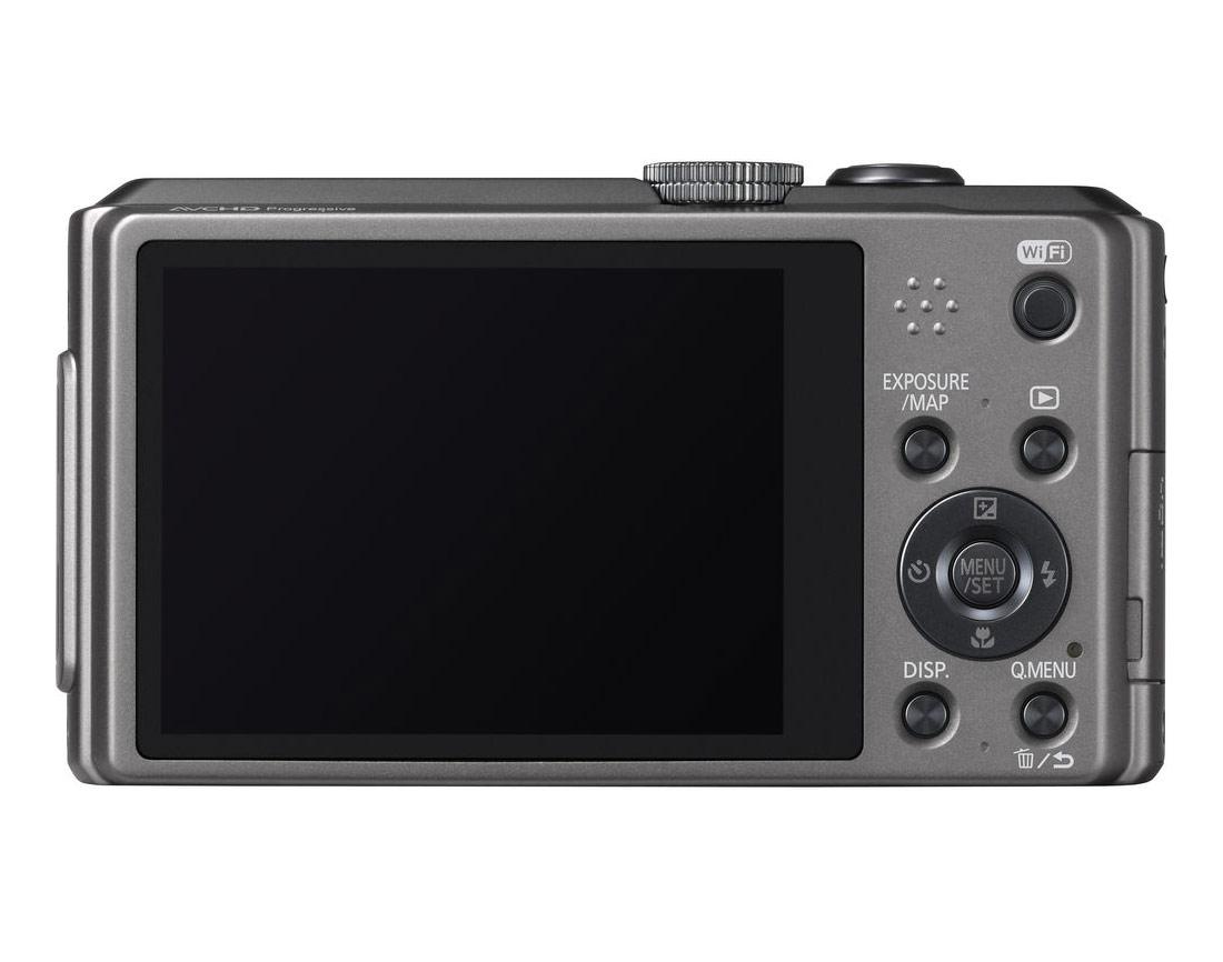 Panasonic Lumix ZS30 - Rear