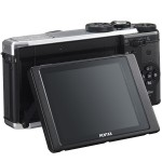 Pentax MX-1 - Tilting LCD Display