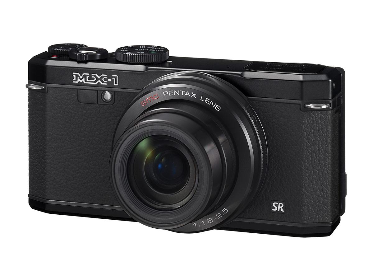 Pentax MX-1 Premium Compact Camera - Black