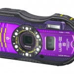 Pentax WG-3 GPS Rugged Waterproof Camera - Purple