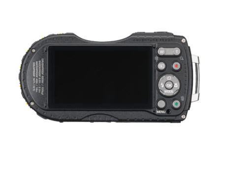 Pentax WG-3 GPS Rugged Camera - Rear