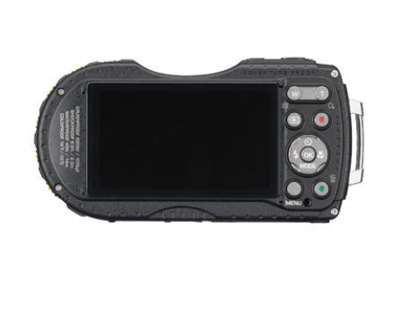 Pentax WG-3 GPS Rugged Camera - Rear