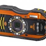 Pentax WG-3 Rugged Waterproof Camera - Orange