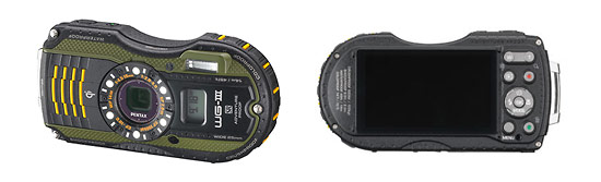 Pentax WG-3 GPS Adventureproof Digital Camera