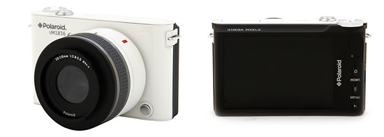 Polaroid's iM1836 Android-Powered Mirrorless Camera