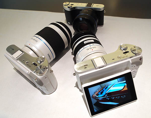 Samsung's New NX300 Mirrorless Camera - photo by Megan Green
