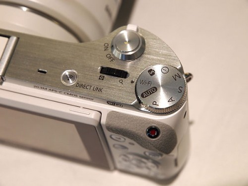 Samsung NX300 Top Controls - photo by Megan Green