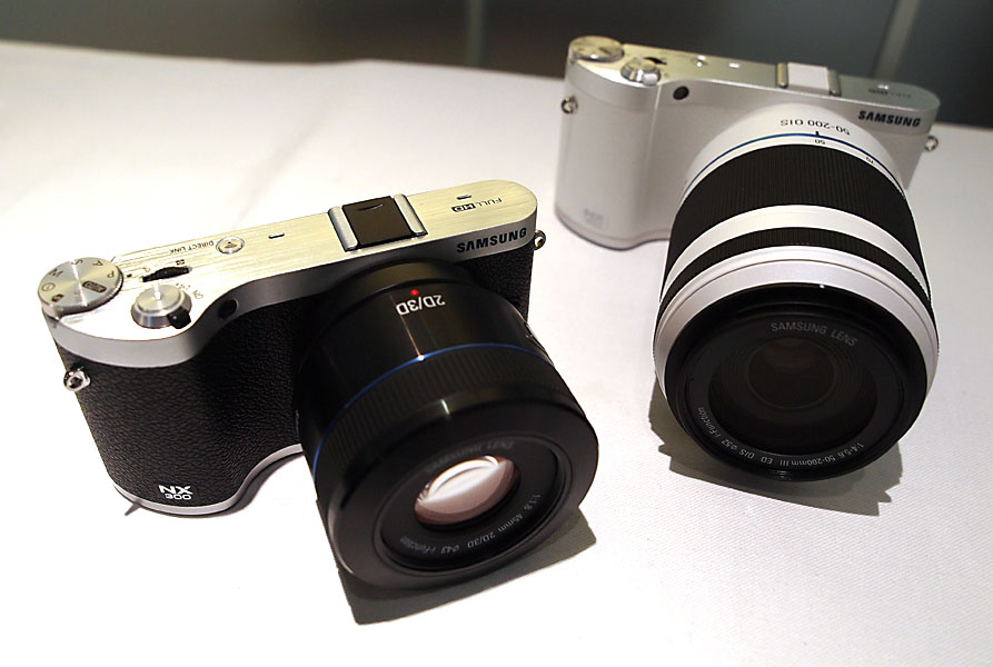 Samsung NX300 - Black and White Models - photo by Megan Green