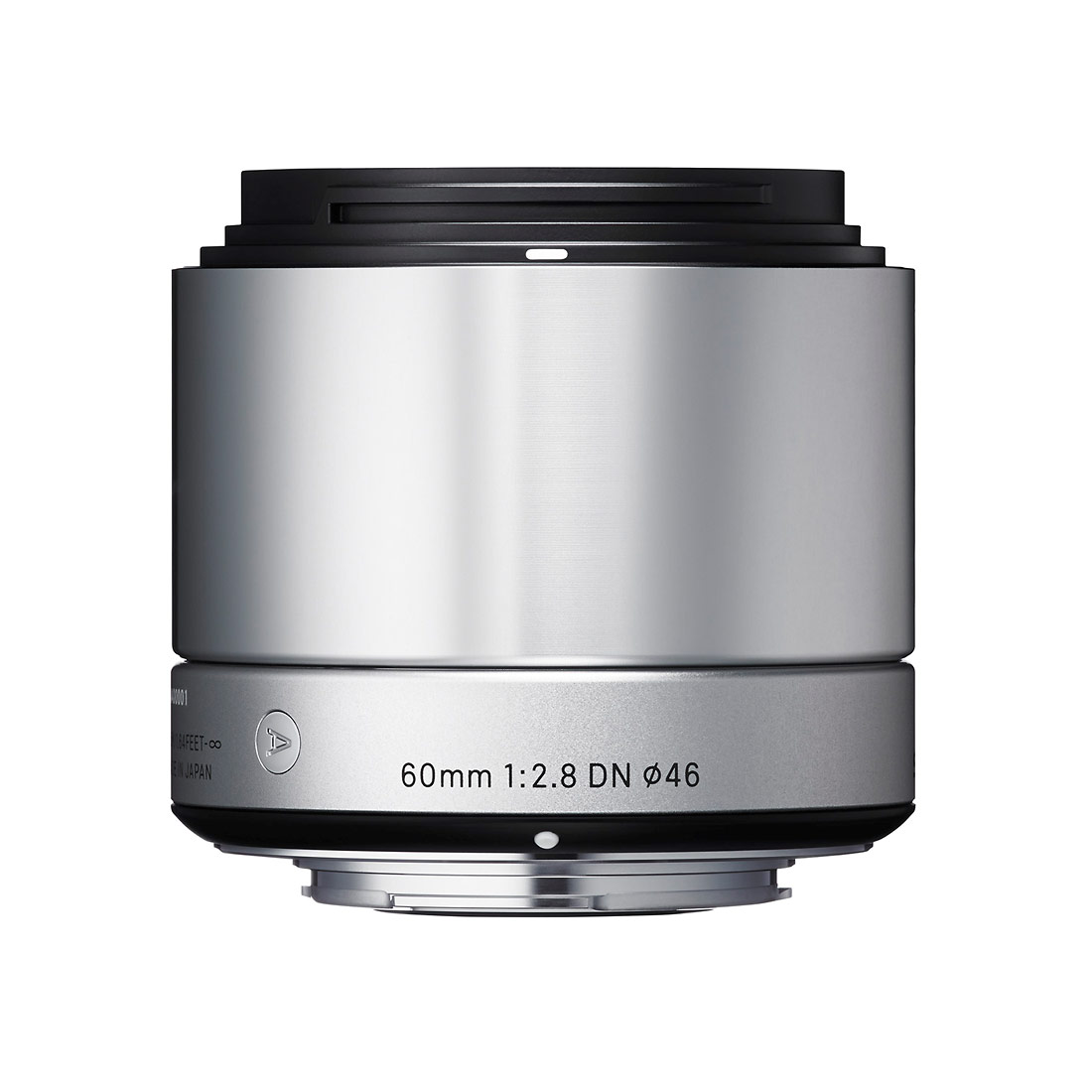 Sigma 60mm f/2.8 DN Lens For Mirrorless Cameras - Silver