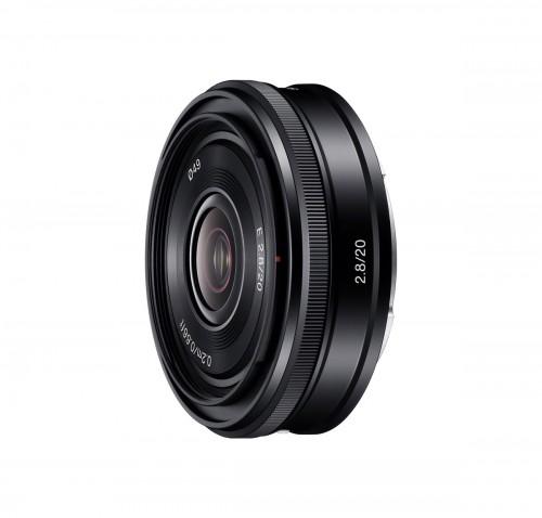 Sony 20mm f/2.8 E-mount Pancake Lens
