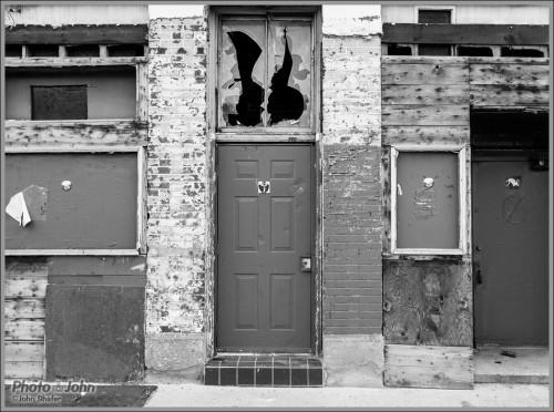 Black & White Street Texture - by Photo-John
