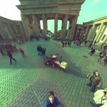 Brandenburg Gate, Berlin - Ball Camera Panoramic Photo Sample