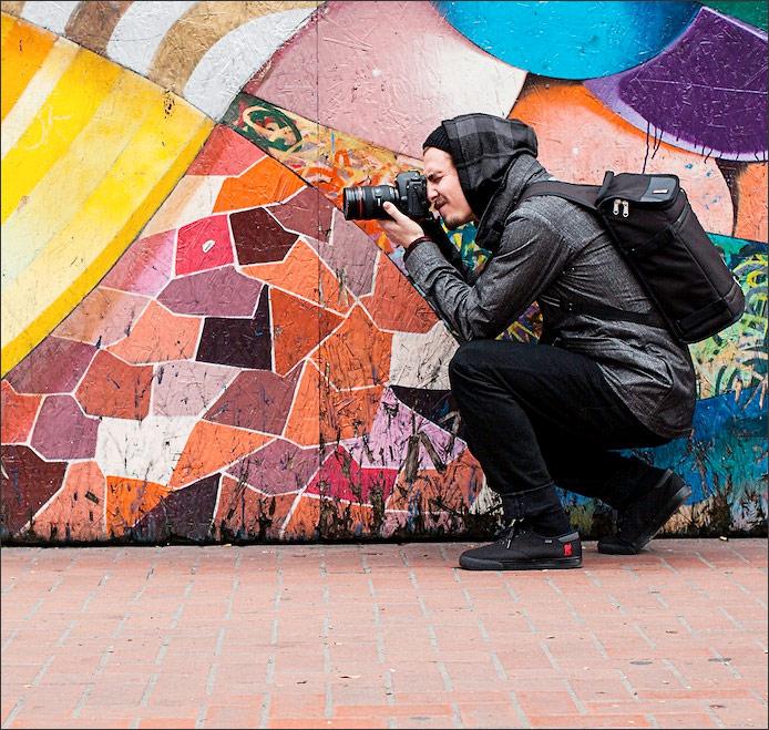 Chrome Niko Messenger Camera Bag - Street Shooter