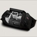 Chrome Niko Messenger Camera Bag - Main Compartment