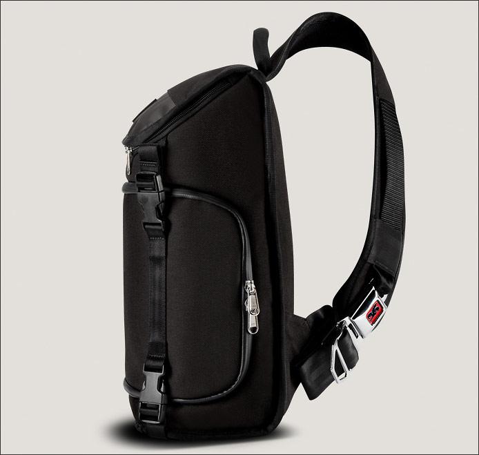 Chrome Niko Messenger Camera Bag - Side View & Strap