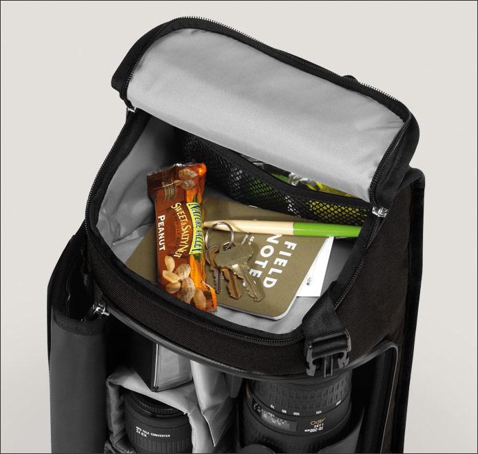 Chrome Niko Messenger Camera Bag - Top Compartment
