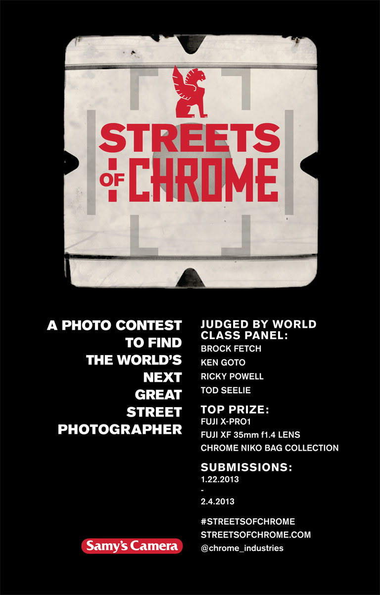 Chrome Industries Streets of Chrome Photo Contest
