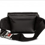 Chrome Niko Sling Camera Bag - Rear With Strap & Buckle