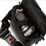 Chrome Niko Sling Camera Bag - Open