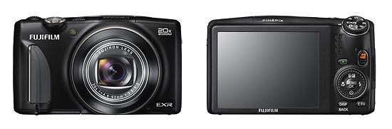 Fujifilm FinePix F900EXR Pocket Superzoom Camera - Front & Back