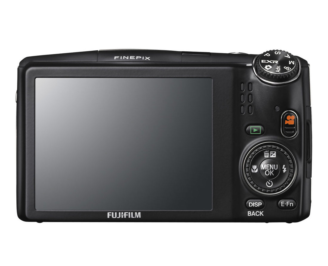 Fujifilm FinePix F900EXR - 3-Inch Rear LCD Display