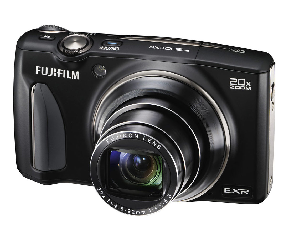Fujifilm FinePix F900EXR With 20x Zoom Lens